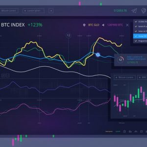 vector Trade dashboard for bitcoin