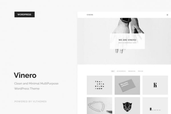 Vinero - Creative MultiPurpose WordPress Theme 1
