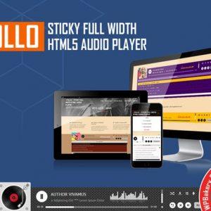 Visual Composer Addon - Apollo Audio Player