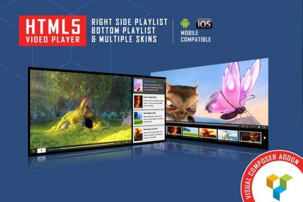 Visual Composer Addon - HTML5 Video Player