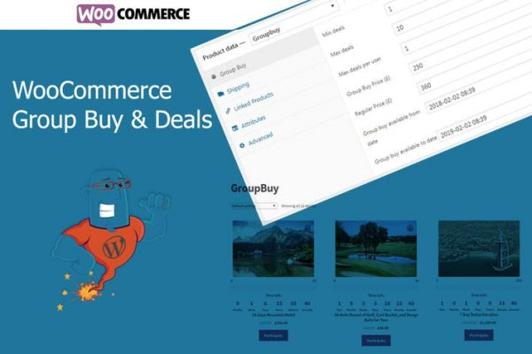 WooCommerce Group Buy and Deals - Groupon Clone fo