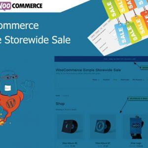 WooCommerce Simple Storewide Sale
