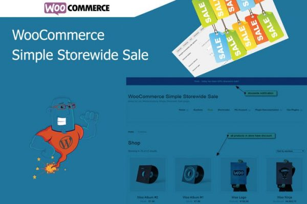 WooCommerce Simple Storewide Sale