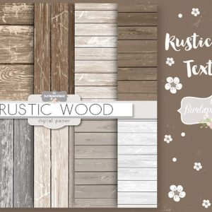 Wood rustic digital paper