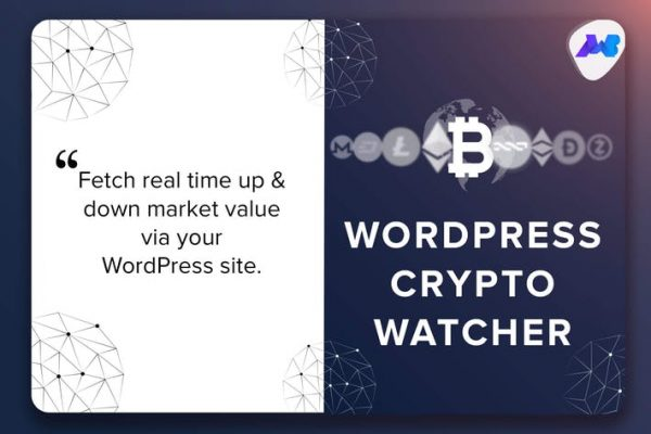 WordPress Crypto Watcher - Realtime Cryptocurrency