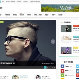 worldnews magazine rtl responsive wordpress blog