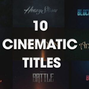 10 Cinematic Titles