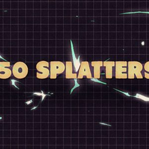 150 Splatter Animations + Opener
