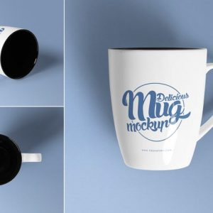 3 Awesome Coffee Mug Mockups
