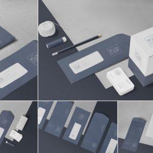 5 Envelope & Letter Mockups