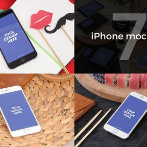 7 iPhone Photo Mockups