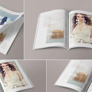 4 Magazine Mockups