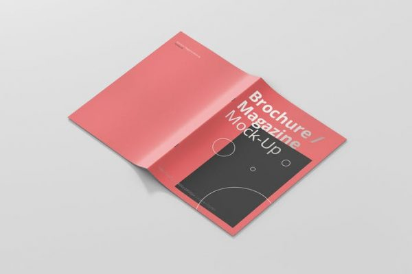 A4 Brochure / Magazine Mock-Up