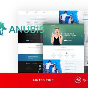 Anubis - Creative PSD Template