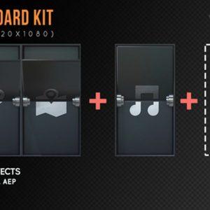 Arrival Board Kit