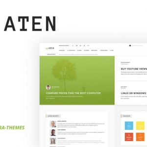 Aten - Intranet & Community PSD Template