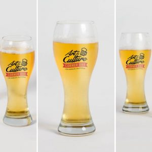 Beer Glass Mock Up