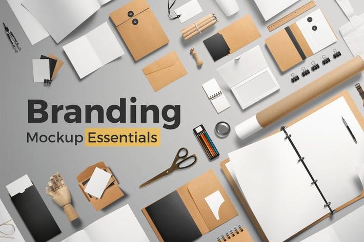 Branding Mockup Essentials Vol. 1