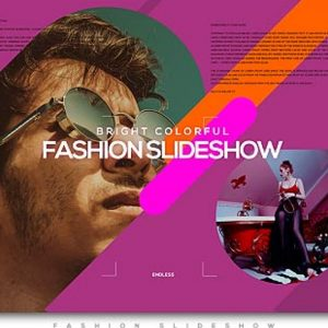 Bright Colorful Fashion Slideshow