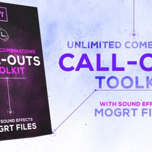 Call-Outs Tool Kit | MOGRT Files for Premiere Pro