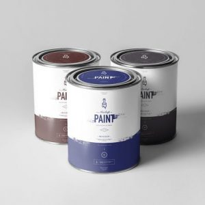 Can of Paint Mock-up