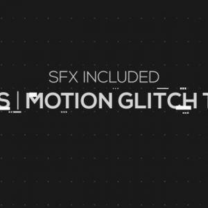 Chaos | Motion Glitch Titles