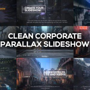 Clean Corporate Parallax Slideshow