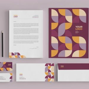 Clean Modern Stationery
