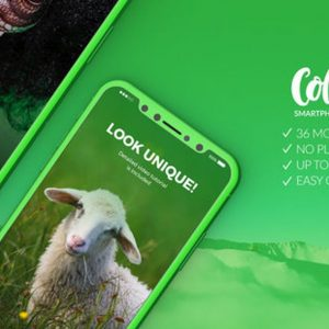 Color it - 3D Smartphone Presentation