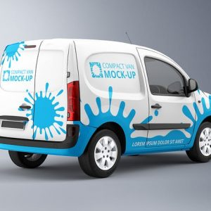 Compact Van Mock-up 2