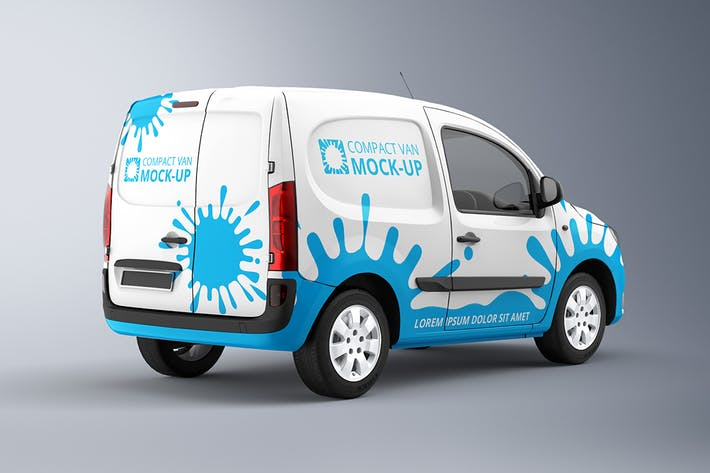 Compact Van Mock-up 2