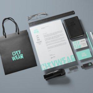 Corporate Branding / Identity Mock-up