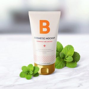 Cosmetic Tube Mock-up 2