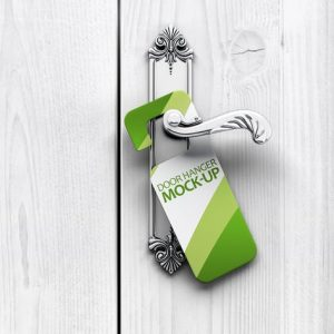 Door Hanger Mock-Up