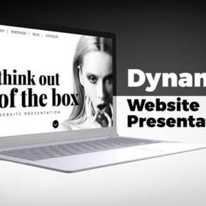 Dynamic Website Presentation