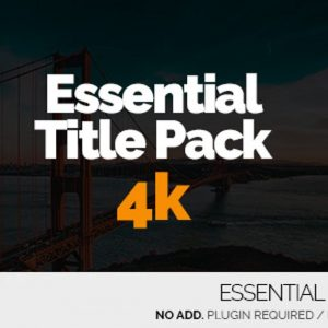 Essential Title Pack 4K