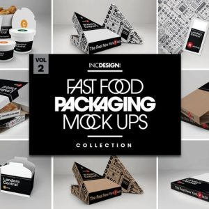 Fast Food Boxes Vol.2: Take Out Packaging Mock Ups