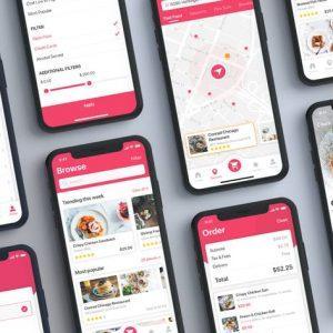 Foody - FoodApp UI Kit
