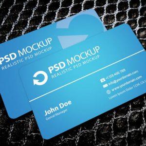 Fresh Business Card Mockup #3