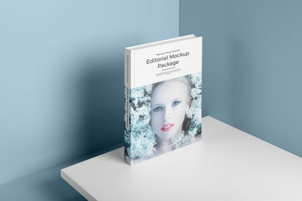 Hardcover Book Mockup Vol. 2