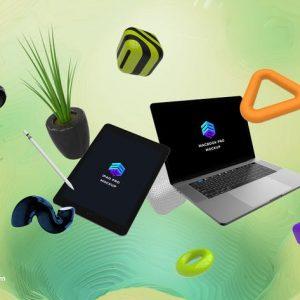 iPad Pro Macbook Pro App Mockup - MK
