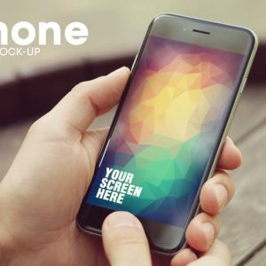 iPhone 6 Screen Mockup v2