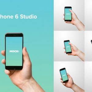 iPhone 6 Studio Mockups