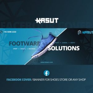 Kasut - Shoes Facebook Cover Template