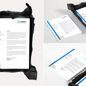 Letterhead Mock Up Vol 03