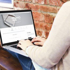 Macbook Pro Laptop Display | Web App Mock-Up