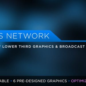 News Network Pack | MOGRT for Premiere Pro