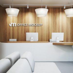 Office Interior Branding Mockups Vol.1