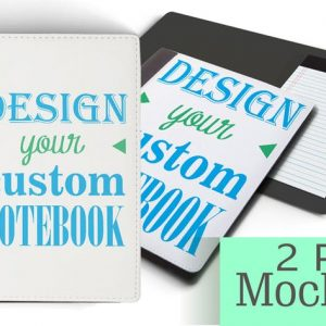 Personalized NoteBook Mockup/DIY