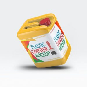 Plastic Canister Mock-Up